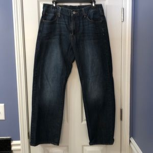 Mens Lucky Brand Jeans 34 Straight